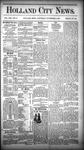 Holland City News, Volume 13, Number 41: November 15, 1884 by Holland City News