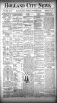 Holland City News, Volume 13, Number 42: November 22, 1884 by Holland City News