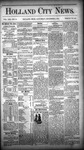 Holland City News, Volume 13, Number 44: December 6, 1884 by Holland City News