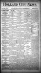 Holland City News, Volume 13, Number 46: December 20, 1884