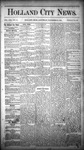 Holland City News, Volume 13, Number 47: December 27, 1884