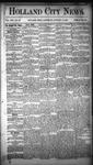 Holland City News, Volume 13, Number 52: January 31, 1885
