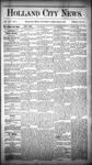 Holland City News, Volume 14, Number 4: February 28, 1885