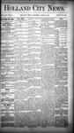 Holland City News, Volume 14, Number 10: April 11, 1885