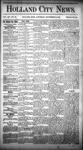 Holland City News, Volume 14, Number 32: September 12, 1885