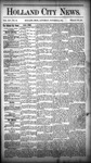 Holland City News, Volume 14, Number 38: October 24, 1885 by Holland City News