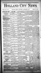Holland City News, Volume 14, Number 40: November 7, 1885