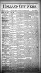 Holland City News, Volume 14, Number 46: December 19, 1885