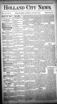 Holland City News, Volume 14, Number 50: January 16, 1886