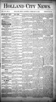 Holland City News, Volume 15, Number 2: February 13, 1886