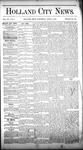 Holland City News, Volume 15, Number 9: April 3, 1886