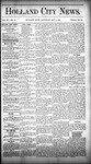Holland City News, Volume 15, Number 13: May 1, 1886