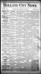Holland City News, Volume 15, Number 20: June 19, 1886 by Holland City News