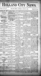 Holland City News, Volume 15, Number 28: August 14, 1886 by Holland City News