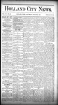 Holland City News, Volume 15, Number 29: August 21, 1886 by Holland City News