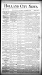 Holland City News, Volume 15, Number 33: September 18, 1886 by Holland City News