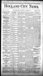 Holland City News, Volume 15, Number 36: October 9, 1886 by Holland City News