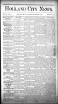 Holland City News, Volume 15, Number 44: December 4, 1886 by Holland City News