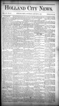 Holland City News, Volume 15, Number 52: January 29, 1887
