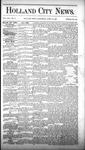 Holland City News, Volume 16, Number 11: April 16, 1887