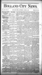Holland City News, Volume 16, Number 12: April 23, 1887