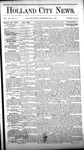 Holland City News, Volume 16, Number 14: May 7, 1887