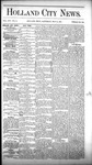 Holland City News, Volume 16, Number 15: May 14, 1887