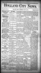 Holland City News, Volume 16, Number 17: May 28, 1887
