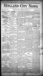 Holland City News, Volume 16, Number 21: June 25, 1887