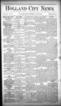 Holland City News, Volume 16, Number 25: July 23, 1887