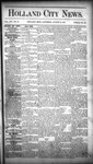 Holland City News, Volume 16, Number 28: August 13, 1887 by Holland City News