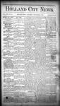 Holland City News, Volume 16, Number 31: September 3, 1887 by Holland City News
