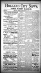 Holland City News - The Fair Daily, Volume 1, Number 4: September 30, 1887