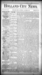 Holland City News, Volume 16, Number 35: October 1, 1887
