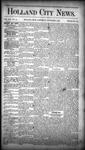 Holland City News, Volume 16, Number 40: November 5, 1887 by Holland City News