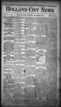 Holland City News, Volume 16, Number 43: November 26, 1887 by Holland City News