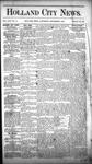 Holland City News, Volume 16, Number 44: December 3, 1887