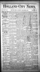Holland City News, Volume 16, Number 45: December 10, 1887
