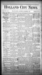 Holland City News, Volume 16, Number 46: December 17, 1887