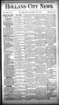 Holland City News, Volume 17, Number 15: May 12, 1888