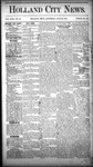 Holland City News, Volume 17, Number 22: June 30, 1888 by Holland City News