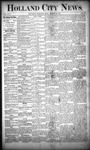 Holland City News, Volume 17, Number 30: August 25, 1888