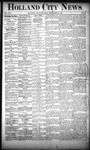 Holland City News, Volume 17, Number 33: September 15, 1888 by Holland City News