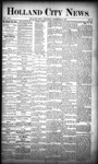 Holland City News, Volume 17, Number 47: December 22, 1888 by Holland City News