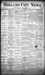 Holland City News, Volume 18, Number 10: April 6, 1889