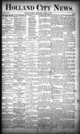 Holland City News, Volume 18, Number 12: April 20, 1889