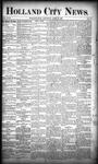 Holland City News, Volume 18, Number 13: April 27, 1889