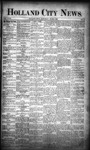 Holland City News, Volume 18, Number 19: June 8, 1889