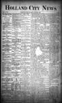 Holland City News, Volume 18, Number 21: June 22, 1889