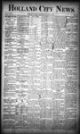 Holland City News, Volume 18, Number 22: June 29, 1889
